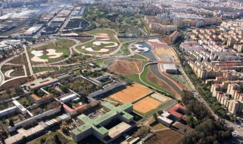 sevilla-parque-miraflores-iifase-vista-aerea