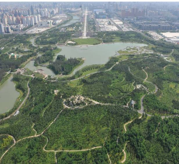 beijing-olympic-forest-park-aerial