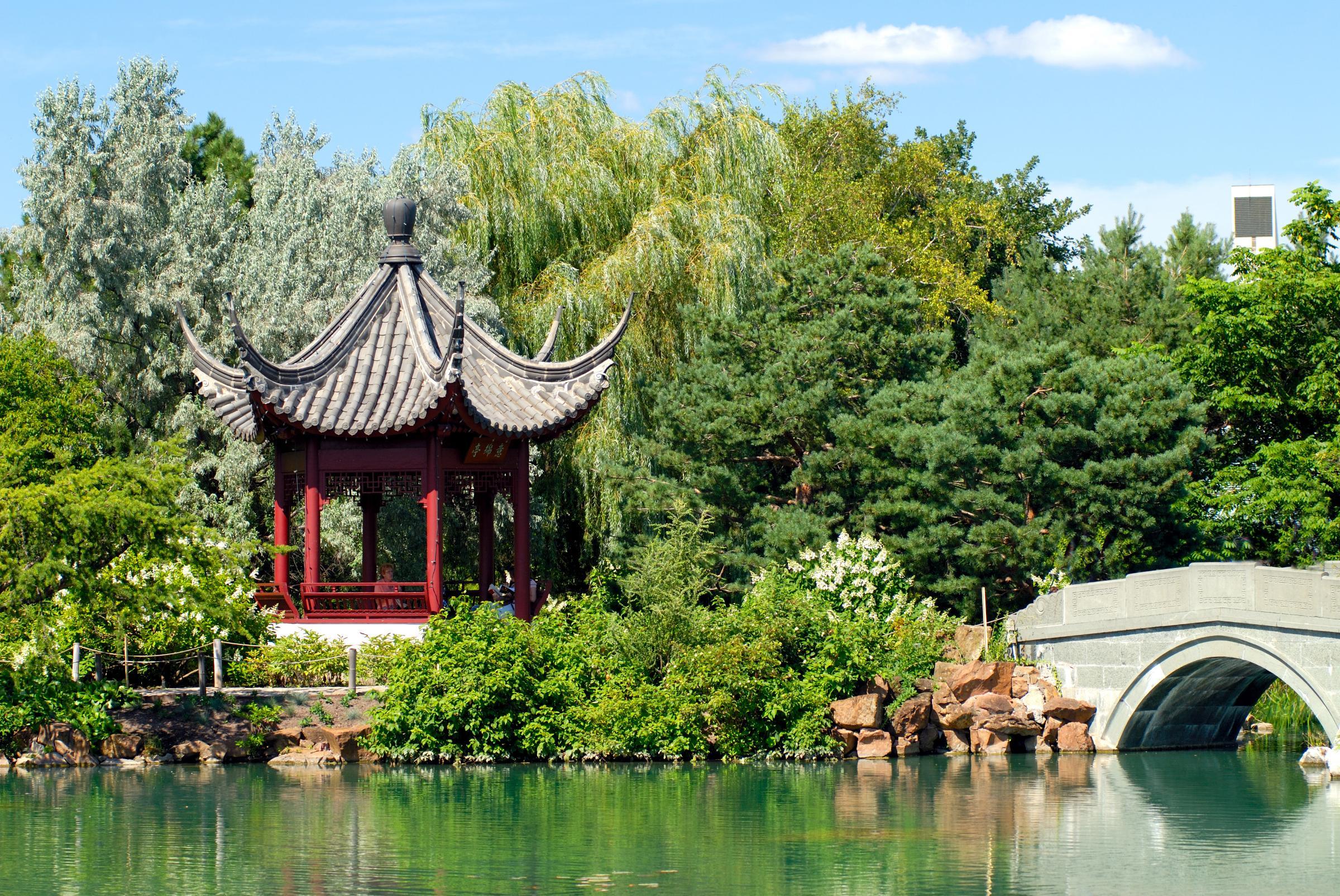 El arte tradicional de los jardines chinos Jardines sin fronteras