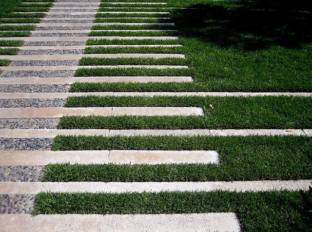 construccin y recepcin de pavimentos en jardines