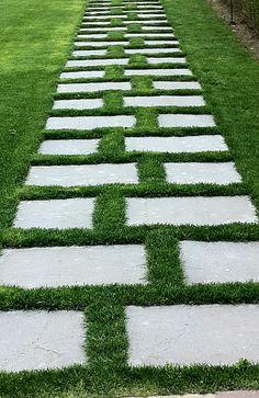 Construcci n y recepci n de pavimentos en jardines for Pavimentos de jardin