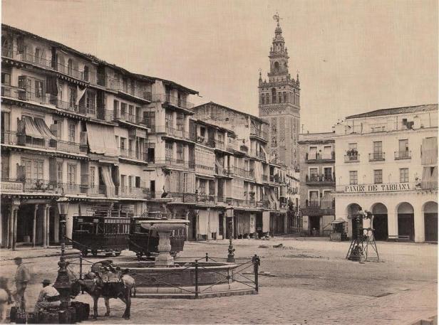 1868-francis-frith-fondo-fotografico-navarra-1865-1881-sevilla-plaza-de-san-francisco-ayunta