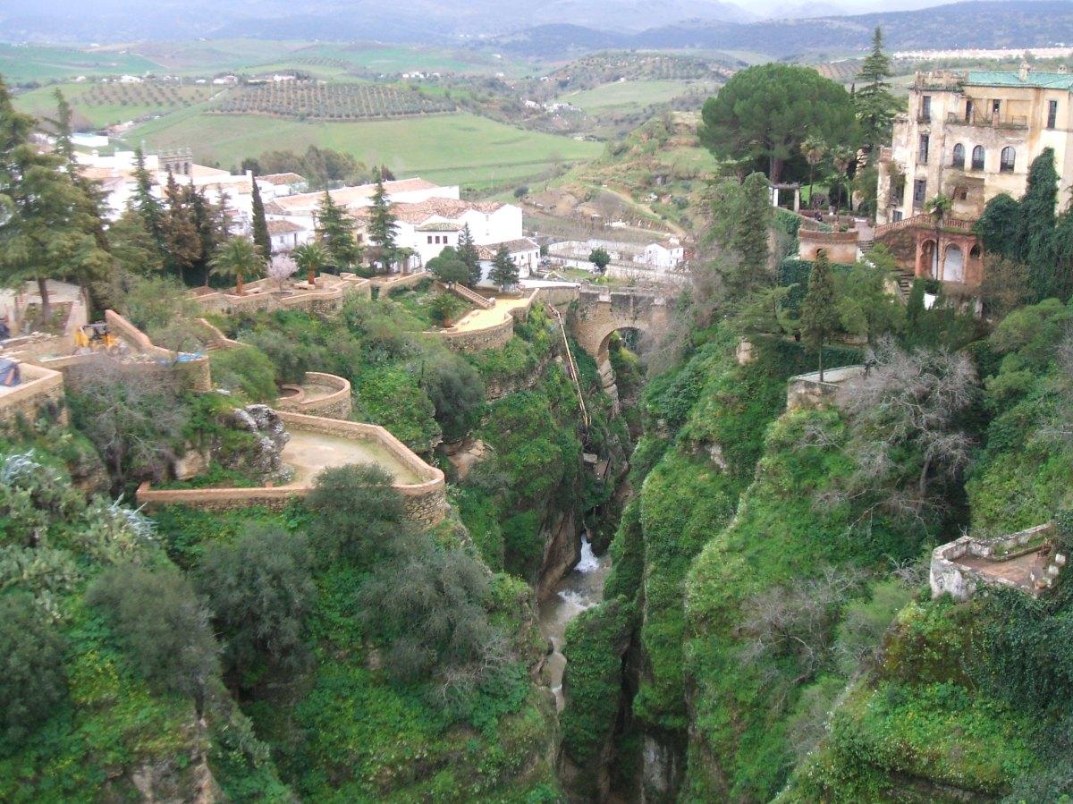 Viaje de visita de jardines en Ronda.-Malaga