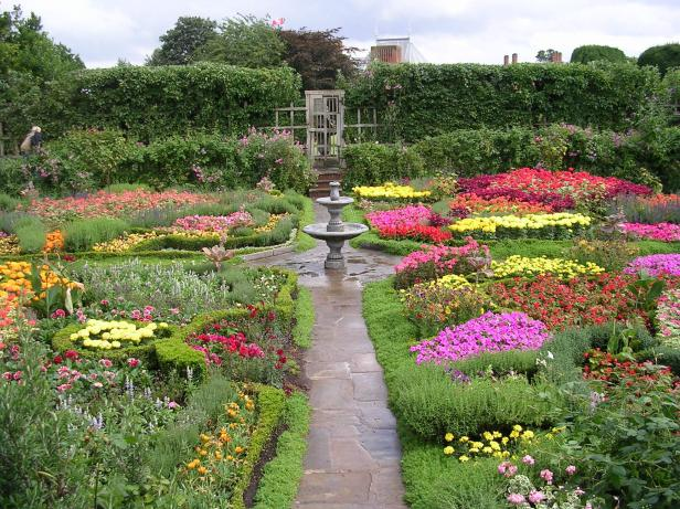 Estilos de jardines ingleses jardines sin fronteras for Cerramientos de jardines y casas