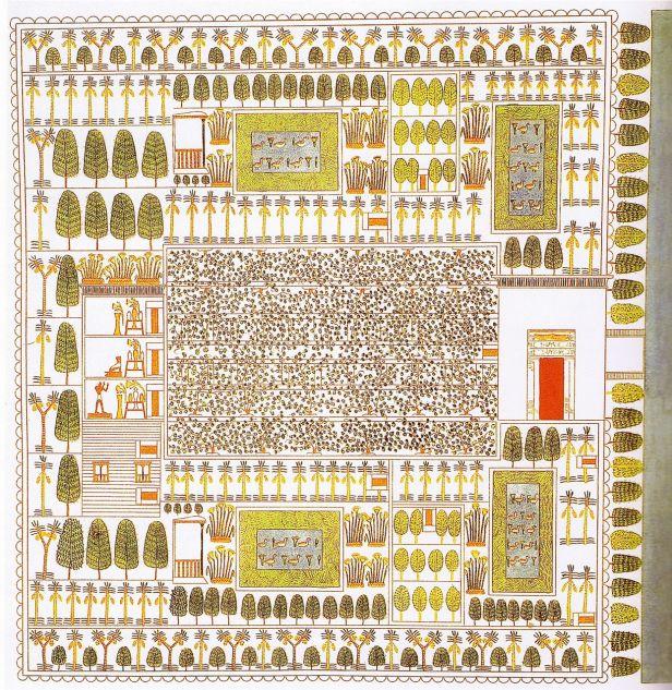 jardin-egipcio-tumba-sennefer-1410-ac