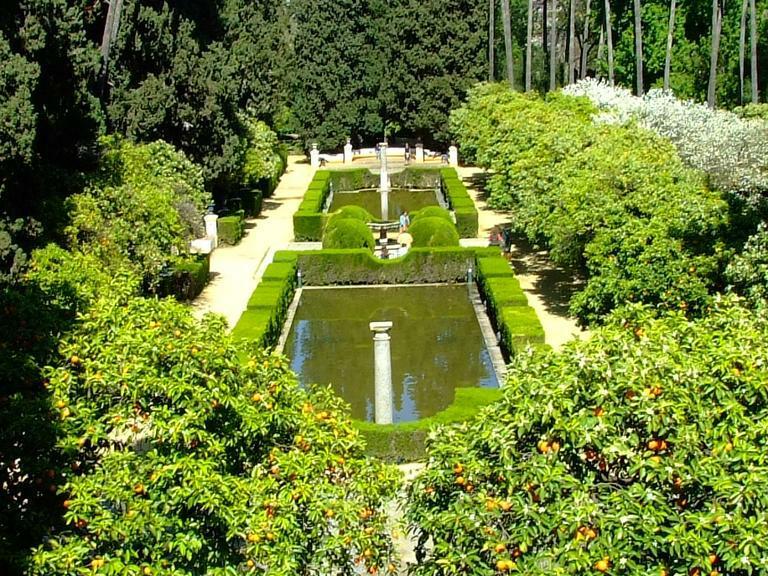 El jard n hist rico y sus caracter sticas fundamentales for Jardines verticales sevilla