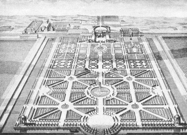 barroco-vista-aerea-del-gran-jardin-de-herrenhausen-dibujo-de-joost-van-sasse-de-1720