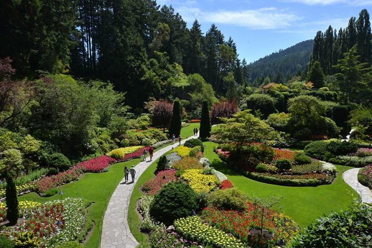 Uno de los jardines mas bellos del mundo jardines sin for Jardines butchart