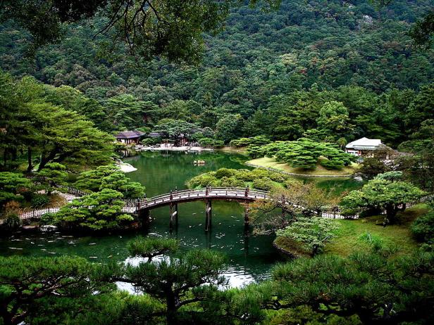 japon-elementos-ritsurin-puente-de-madera