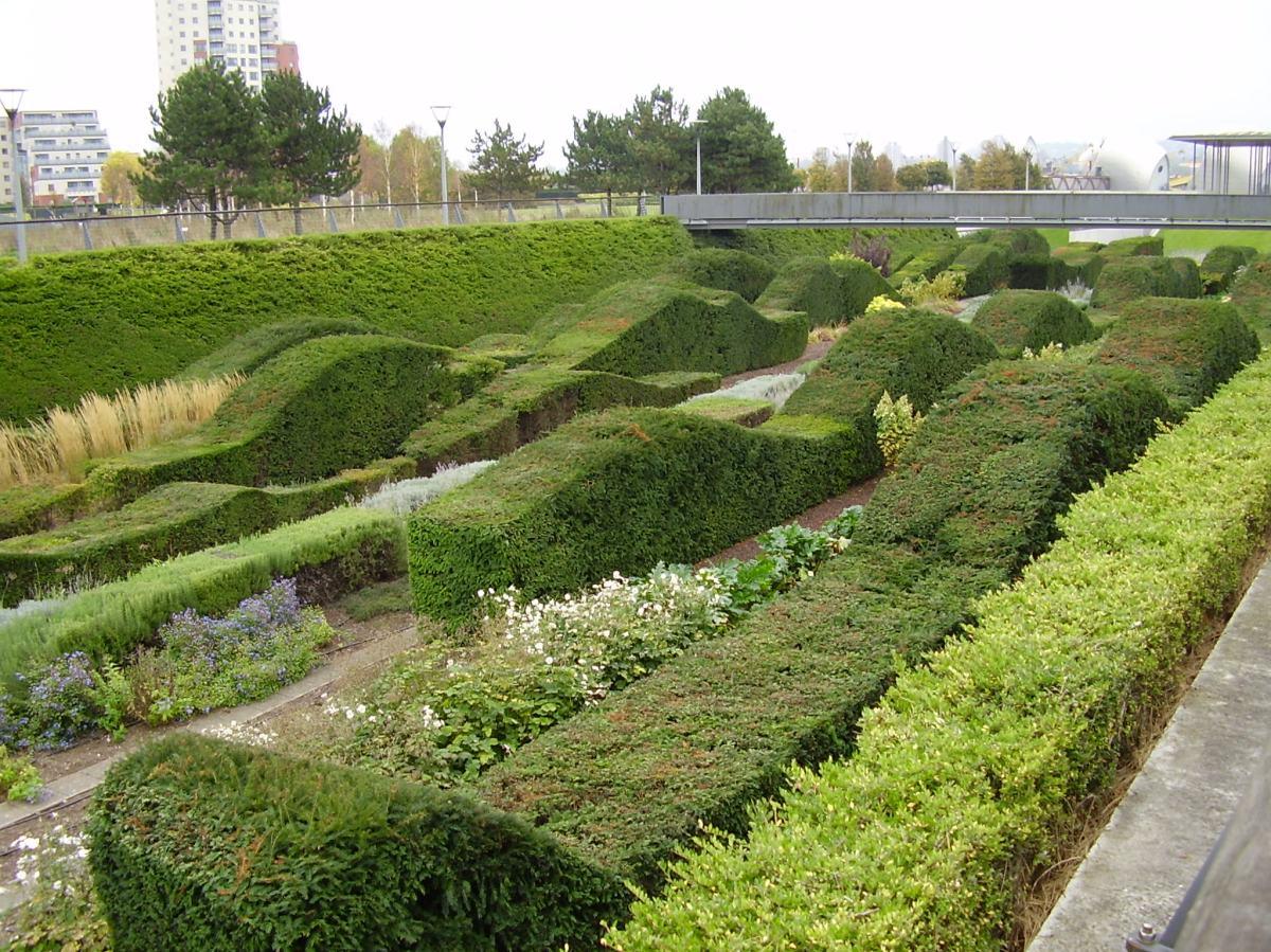 Del diseño de jardines  contemporáneos