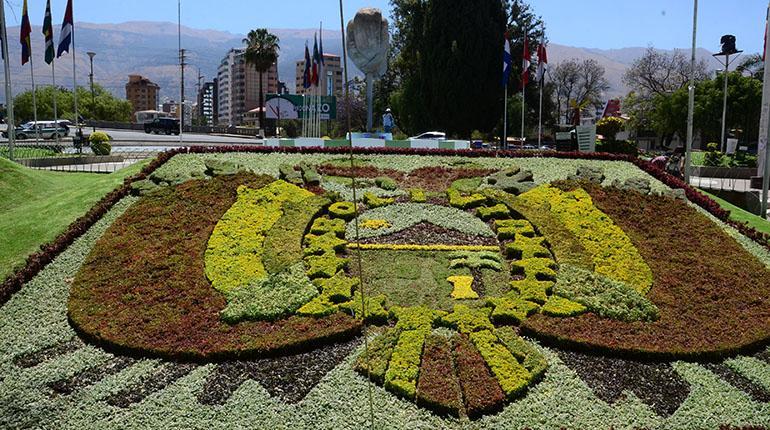 Jardines de latinoam rica cuba puerto rico uruguay rep for Banderas decorativas para jardin