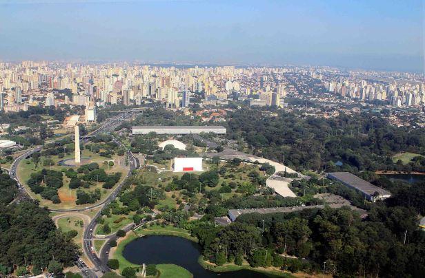 Parque do Ibirapuera – São Paulo (SP) – 01.06.2011 – Geral – Vista Aérea do Parque Ibirapuera localizado no bairro do Ibirapuera – Foto: Caio Pimenta/SPTuris