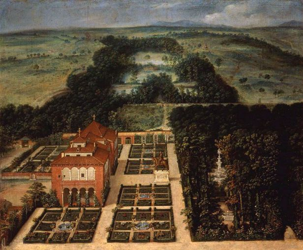 e-la-casa-de-campo-de-felix-castello-1637-museo-municipal-de-madrid-dibujo-_casa_de_campo-_madrid-_espana