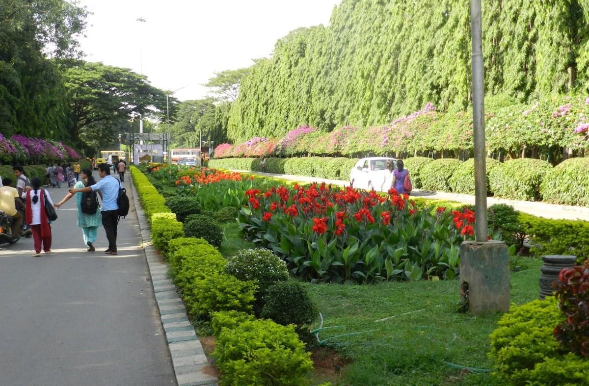 Jardines en la India