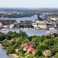 Jardines en Suecia