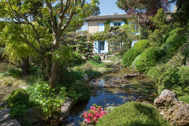 Regiones de breta a indre et loire y rh ne alpes jardines sin fronteras - Beaumont monteux jardin zen ...