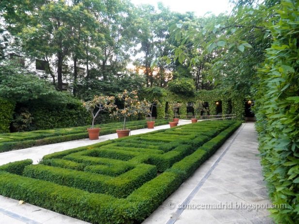 Madrid capital jardines sin fronteras for Casa de jardin varca goa