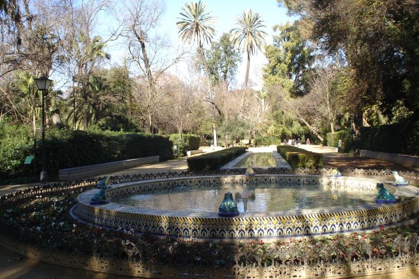Andaluc a occidental bloque 1 sevilla capital jardines for Jardin botanico en sevilla