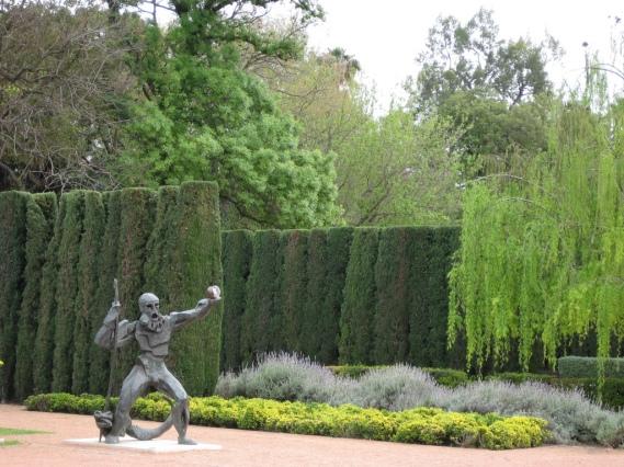 Los citricos ornamentales en europa y america jardines for Jardin de las hesperides valencia