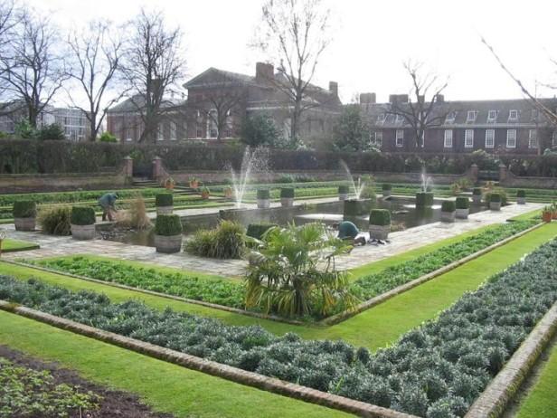Algunos jardines de palacios reales jardines sin fronteras for Jardines de kensington