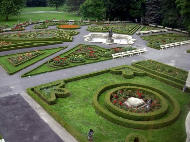 Algunos jardines de palacios reales jardines sin fronteras for Chino el jardin