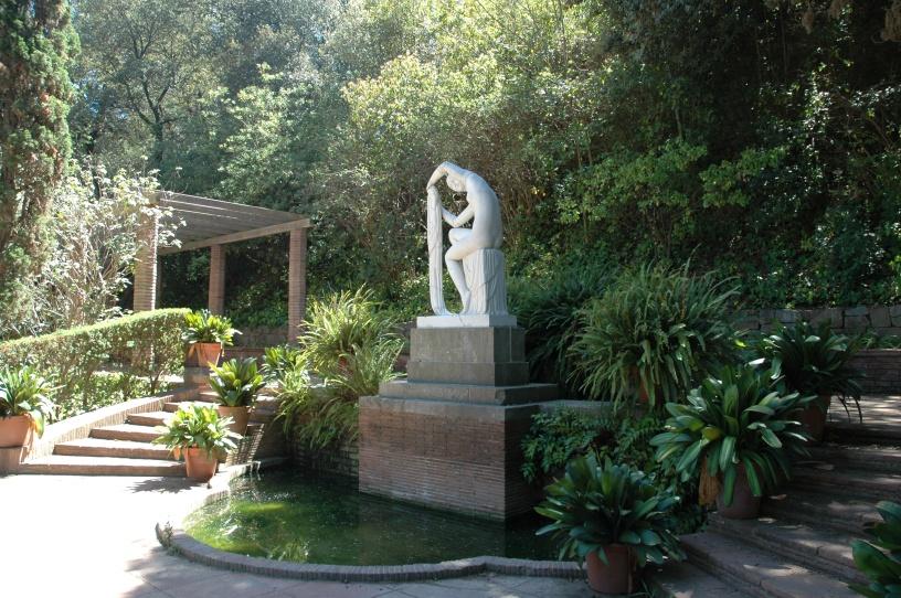 Jardines de jean claude nicolas forestier en espa a jardines de laribal parque de montjuic - Jardines de montjuic ...