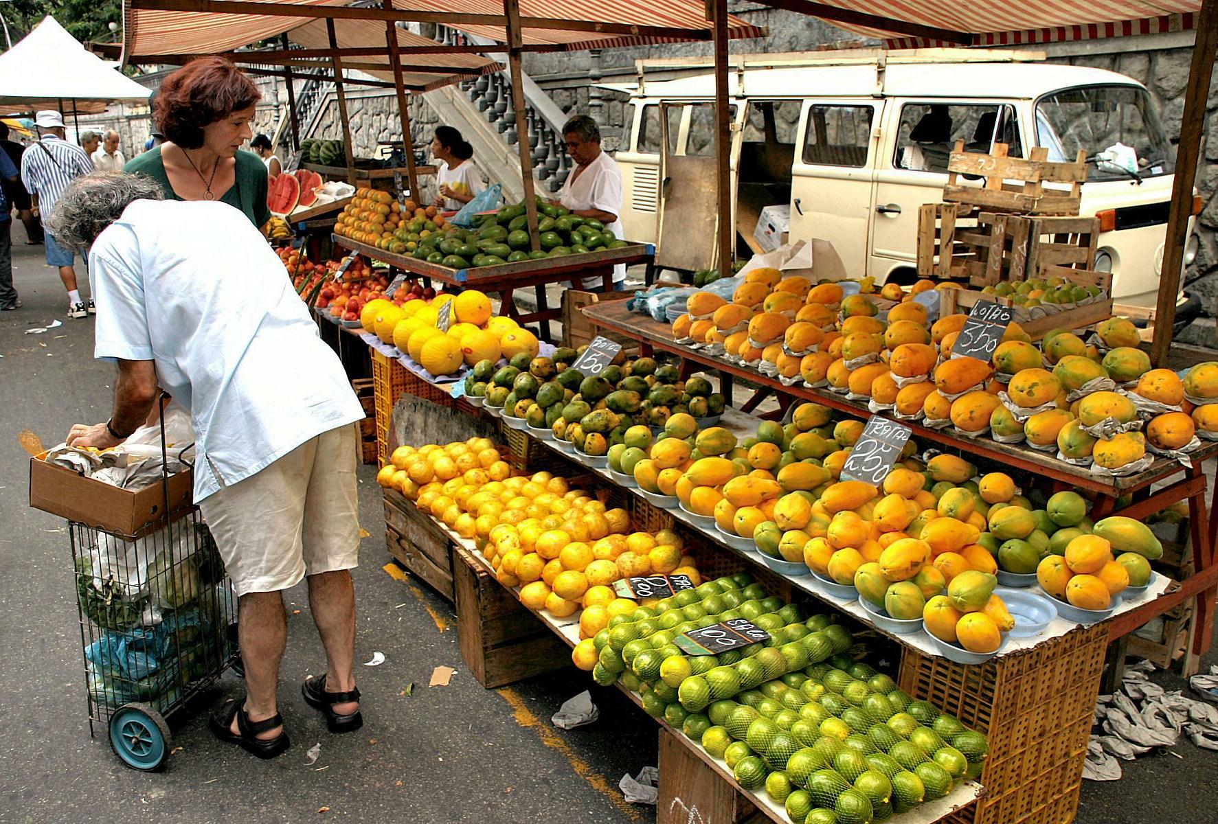 Frutos tropicales.-Rio